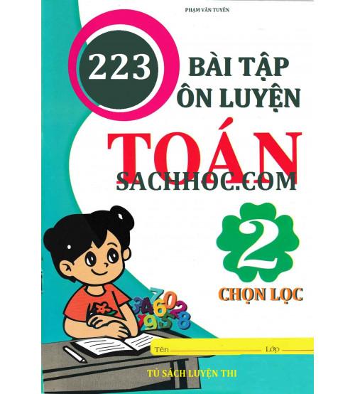 223 bài tập ôn luyện toán 2 chọn lọc