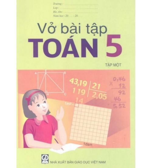 Vở bài tập toán 5 tập 1,2
