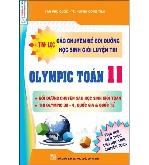 Tinh lọc các chuyên đề bồi dưỡng học sinh giỏi luyện thi Olympic toán 11