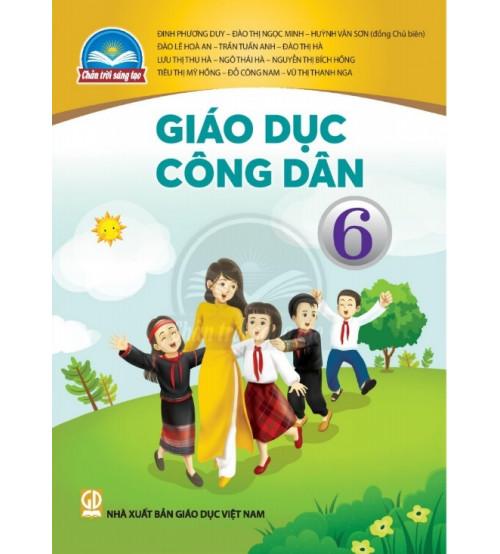 Sách giáo khoa giáo dục công dân 6 (Chân trời sáng tạo)