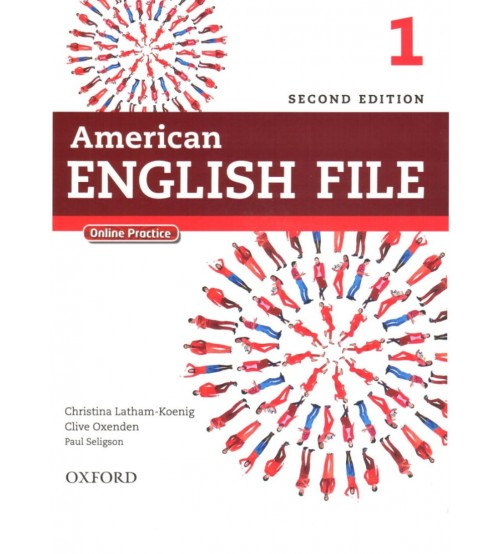 American english file starter 1,2,3,4,5 (Full ebook +audio)