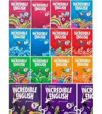 Oxford Incredible English Starter 1,2,3,4,5,6