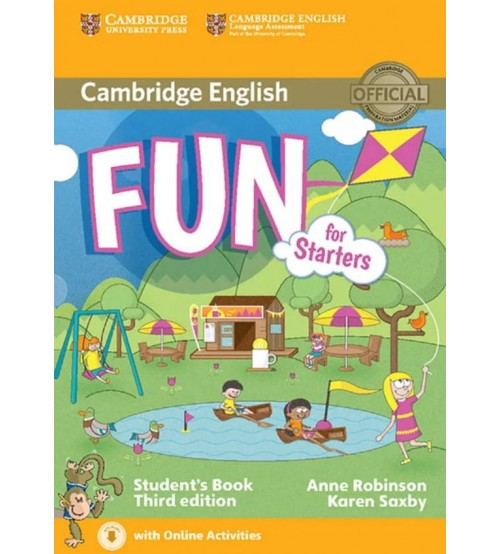 Bộ sách Cambridge Fun For Starters - Movers - Flyers 2nd Edition
