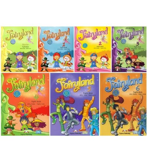 Trọn bộ sách Fairyland 1,2,3,4,5,6 (ebook+audio)