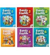 Bộ sách tiểu học Family and Friends Level 1, 2, 3, 4, 5, 6