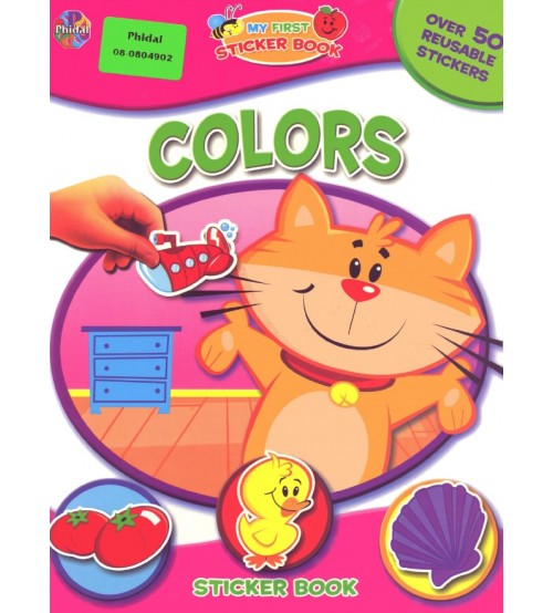 4 cuốn sách My first sticker book download