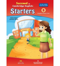 Trọn bộ sách Succeed in Starters - Movers - Flyers (full ebook+audio)