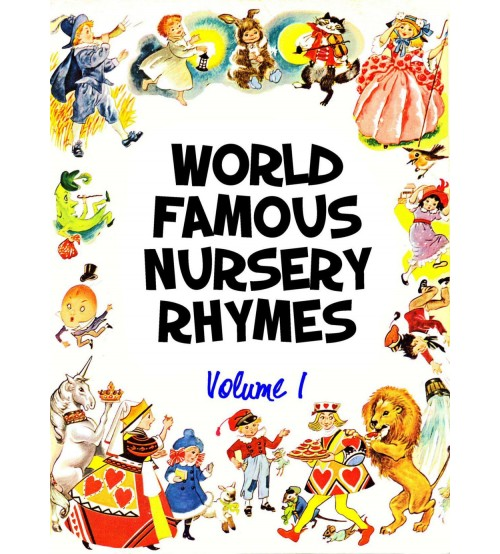 World Famous Nursery Rhymes Volume 1,2,3