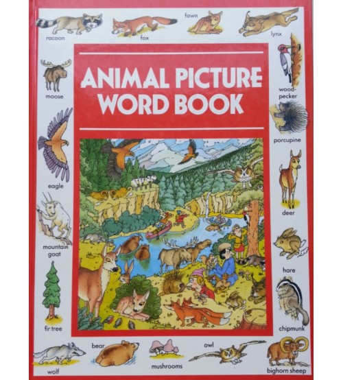 Download sách Animal Picture Word Book pdf