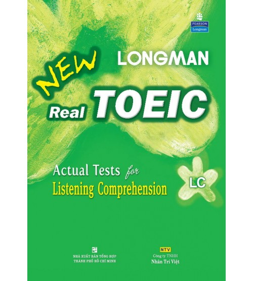 Trọn bộ sách Longman New Real Toeic LC,RC (Full ebook+audio)
