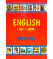 English flashcards opposites