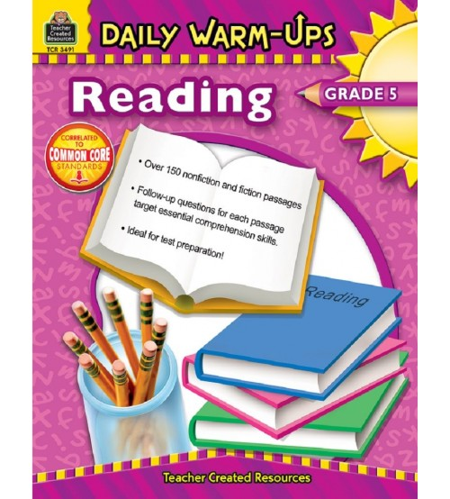 Daily warm-ups reading grade 5 pdf