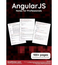 AngularJS Notes for Professionals