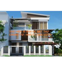 Thư Viện Dân Dụng 48 Bản vẽ Nhà phố, Biệt thự, chung cư, nhà vườn